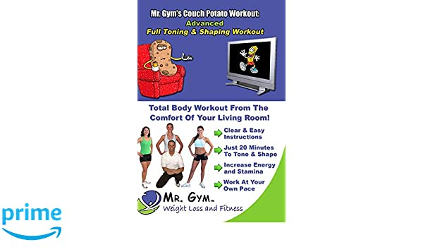 Amazon.com: Mr. Gyms Couch Potato Workout on DVD: Advanced ...