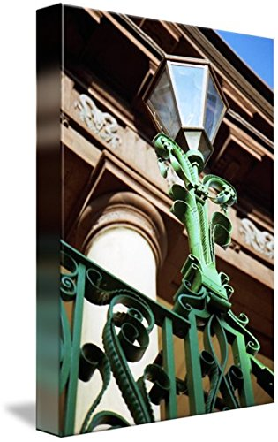 - Imagekind Wall Art Print Entitled Market Hall Gas Lantern by Benjamin Padgett | 7 x 10