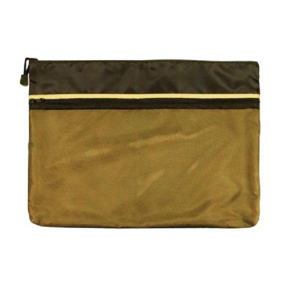Alvin EBDZ1216 12 x 16 Dual Zippered Pocket Fabric Mesh Bag National Cellular