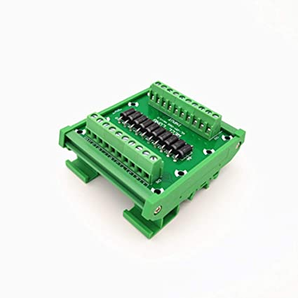DIN rail mountable Diode Protection Terminal Block SR5100 5A