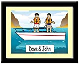 Best Personalized Gifts Buddies Frames - Personalized Boat Buddies Print in Frame Gift, Speed Review