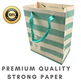"Gift Bags Medium - Luxury 12 pcs Shopping Paper Bag 9"" x 7"" x 4"" inch Party Birthday Gift Bags"