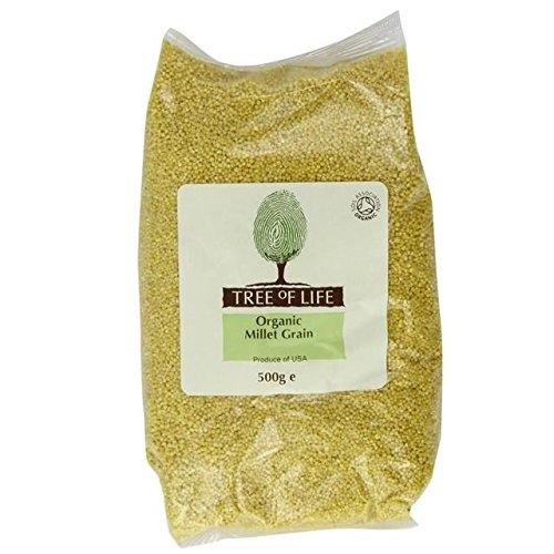 Tree of Life Organic Millet Grain - 500g (1.1lbs) by Tree of Life