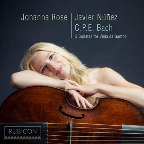 (C.P.E. Bach: 3 Sonatas for Viola da Gamba)