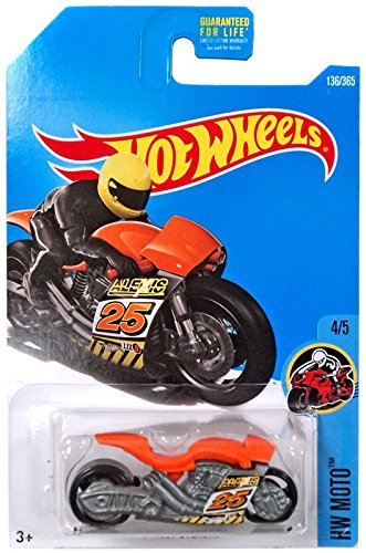 - Hot Wheels 2017 HW Moto 4/5 Street Stealth 136/365, Orange