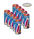 PACK OF 10 - Hartz: Chew'N Clean Dog Bone Country Bacon Flavored Large, 1 Ct
