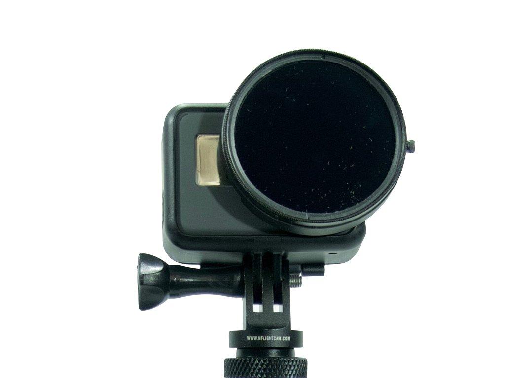 Nflightcam 58mm Propeller Filter for GoPro Hero5, Hero6, and Hero7