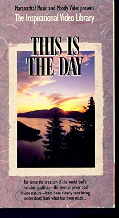 Amazon com: This is The Day (The Inspirational Video Library