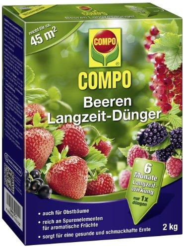 Compo 21573 Beeren Langzeit Dünger 2 kg