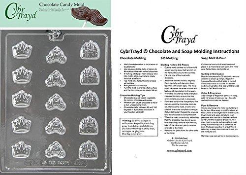 princess crown chocolate mold - 5