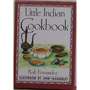 A Little Indian Cookbook Front Cover