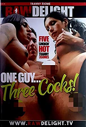 Three raw cocks
