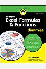 Excel Formulas & Functions For Dummies Kindle Edition