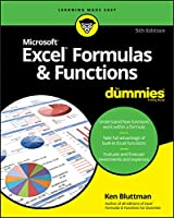 Excel Formulas & Functions For Dummies, 5th Edition Front Cover