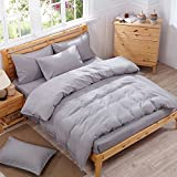 Pure color is simple kit 4 piece bed linen supplies of double and single bed linen 3 quarters piece 1.8m1.5