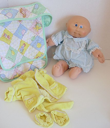 Vintage Cabbage Patch Kid Preemie Doll 1982 Blonde for sale  Delivered anywhere in USA
