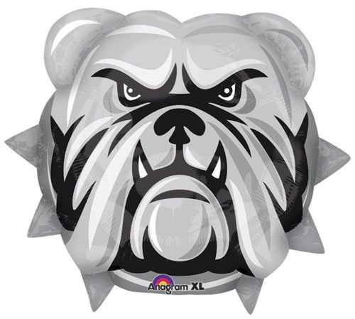LoonBalloon BULLDOGS Bull Dogs School Mascot Logo TEAM 21