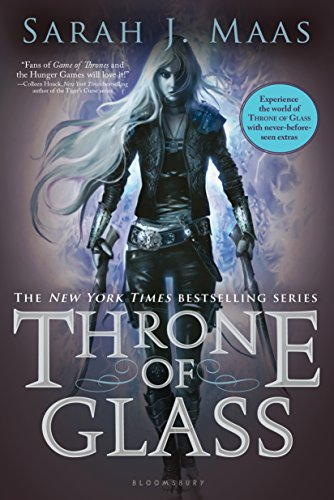 Image result for throne of glass book 1 cover