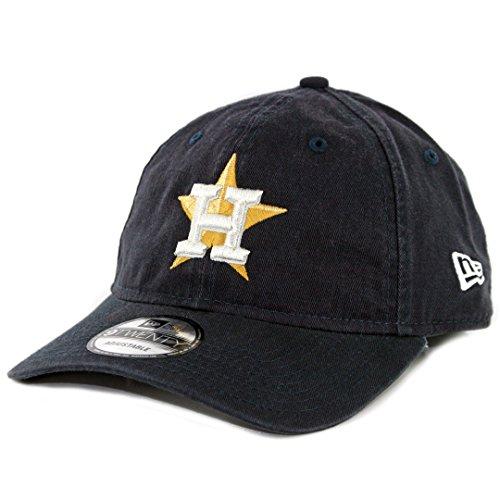best service 6b3cc 1019b New Era 920 Houston Astros Gold Patch Strapback Hat 2017 ...