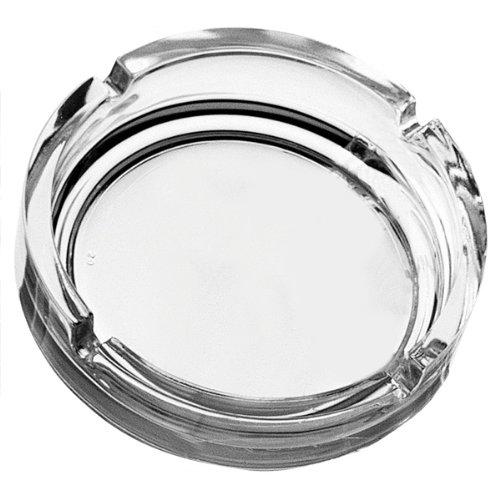 Pasabahce Glass Stackable Ashtray/4 Inches, Clear