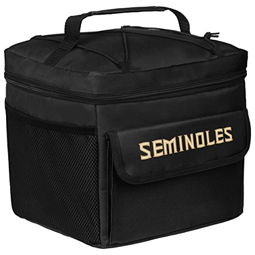 FOCO NCAA Florida State Seminoles Unisex All Star Bungie Cooler: Red, One Size
