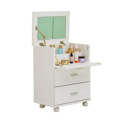 Amazon.com: Cabinets Bedroom Solid Wood Dressing Table Small ...