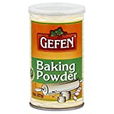 Gefen Gluten Free Baking Powder with Kosher for Passover and All Year Round, 8 oz