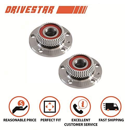 Brand New DRIVESTAR 512012X2 Pair: 2 Rear Wheel Hub & Bearing for VW Jetta Golf Beetle Audi TT 2WD 2x4