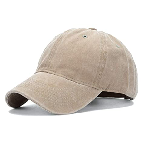 Leoie Unisex Old Fashion Classic Cowboy Sunscreen Sports Baseball Caps  Khaki  Amazon.in  Home   Kitchen c61762fd566