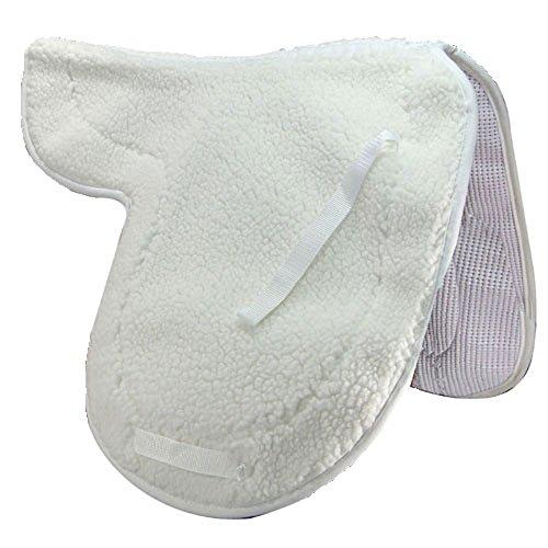 International Dressage Saddle Pad - Intrepid International Non-Slip Fleece Dressage Pad
