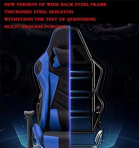 Chaise De Bureau, Chaise Pivotante De Levage Ergonomique, Accoudoir, Dossier, Chaise De Jeu Réglable Multi-Angle, Adapté À La Famille De Bureaux,3 4