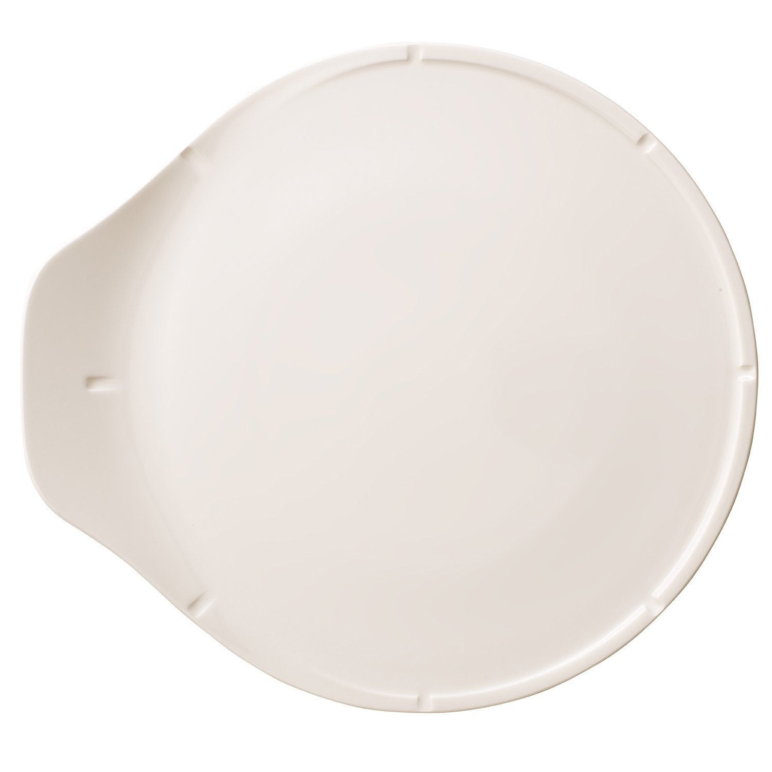 Pizza Passion Pizza Plate by Villeroy & Boch - Premium Porcelain - Made in Germany - Dishwasher and Microwave Safe - 14 .5 x 13.75 Inches