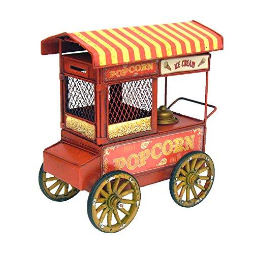 rolling popcorn cart - 9