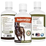 Rejenease Liquid Glucosamine for Dogs for Arthritis Pain Relief, Joint Care and Better Mobility 32oz