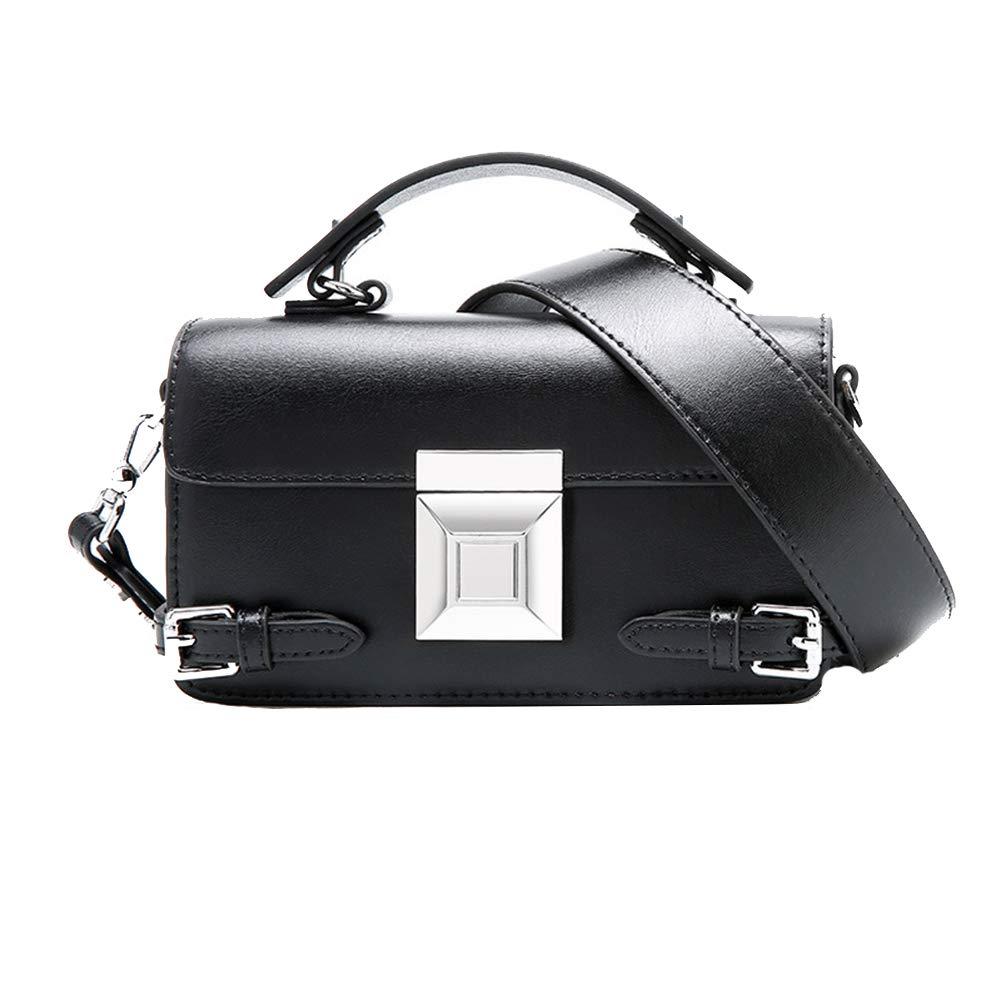 Black Onzama Women's Designer Top Handle Shoulder Handbags Stylish Crossbody Bag for Girls
