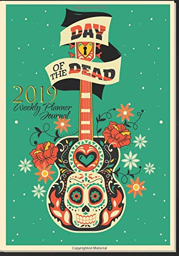 Amazon.com: Day Of The Dead 2019 Weekly Planner Journal ...