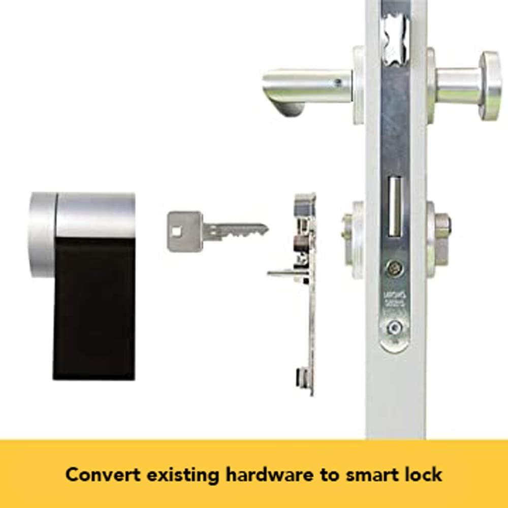 NUKI 220113 Smart Lock 2.0-Cerradura electrónica para Puerta con Bluetooth (para iPhone y Android, Requiere Puente, 0 W, 6 V, Negro, 110 x 60 x 60 mm: Amazon.es: Bricolaje y herramientas