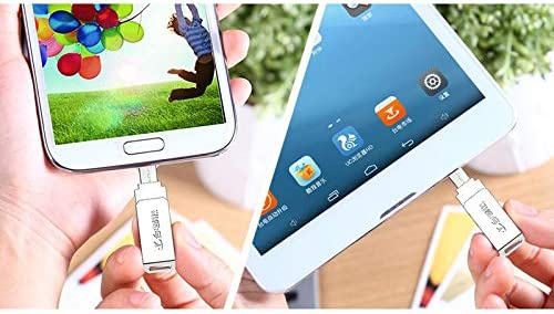 for Galaxy YINZHI Charge Cable Adapater Color : Color1 Sony Xiaomi Google LG HTC and Other Smartphones /& Tablet NYO Series 2 in 1 32GB Rotation Type Micro USB /& USB 3.0 Flash Disk Huawei