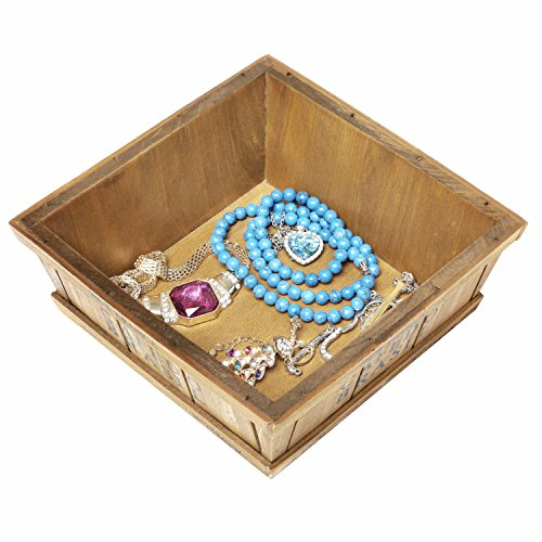 Wooden Decorative Boxes: Coffee Themed Decorative Wooden Storage Display Box For