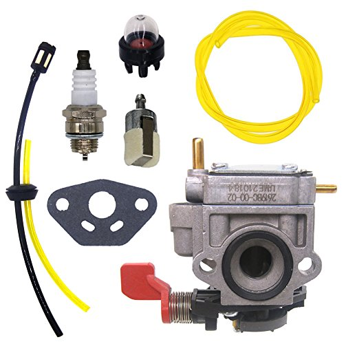 FitBest Carburetor Kit for Homelite Ryobi 308028004 UT08012 UT08042 UT08072 UT08512 UT08542 UT-08572 Blower Carb
