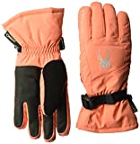 Spyder Women's Synthesis Gore-Tex Ski Glove, Coral/Silver, Small