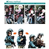 LOCOMMI Child Motorcycle Safety Harness with