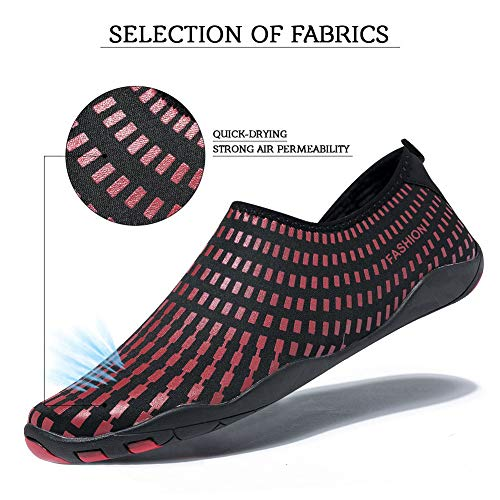 Plage Chaussures de Chaussures Madaleno Chaussures Yoga d'eau pour Aquatiques Plong Chaussures de Femme Homme Swzwxqa0p