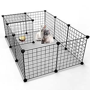 fbartl - Caja Plegable para Mascotas, Perros, Jaula de Juego ...