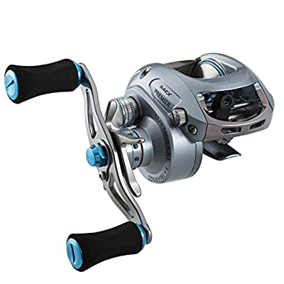 Piscifun Saex Premier Baitcasting Reel 7.3:1 6.5:1 Baitcaster Low Profile Baitcast Fishing Reel from Piscifun