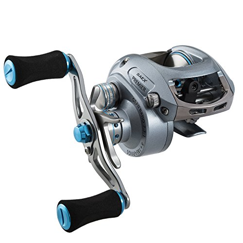 Piscifun Saex Premier 7.3:1 Baitcaster Reel Right Handed Baitcast Reel Low Profile Baitcasting Reel Ultra Light 6.3oz Baitcaster Fishing Reels (7.3:1 Right Hand)