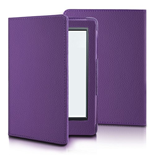 Infiland Case for Kindle 8th Generation - Folio Premium PU Leather Smart Cover For Amazon All-New Kindle E-reader 6