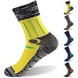 RANDY SUN 100% Waterproof Socks, Unisex Cycling/Hunting/Fishing/Running Ankle/Mid Calf Socks