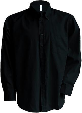 Kariban k546 – Nevada II > Camisa Manga Larga Schwarz - Schwarz XXX-Large: Amazon.es: Ropa y accesorios