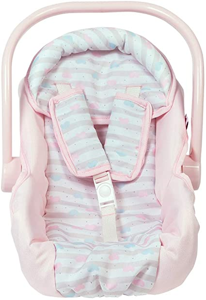 Doll Or Stuffed Toy Car Seat  Assorted Colors
